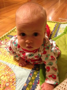 So nearly crawling!