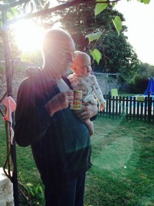 Morning time with grandpa Don